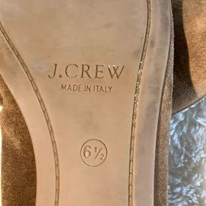 J. Crew Shoes - J. Crew Italian Suede Flats